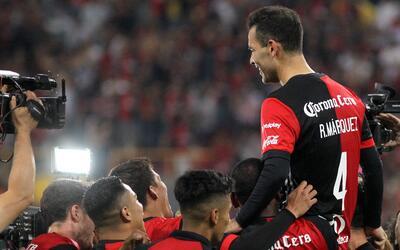 Rafael Márquez se despidió del Estadio Jalisco.