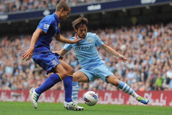 Manchester City recibió al Everton buscando un nuevo triunfo.