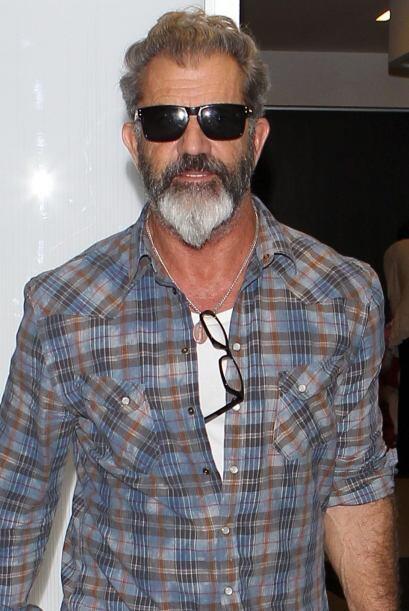 ¡Sí! Aunque usted no lo crea, este es Mel Gibson, padre de...