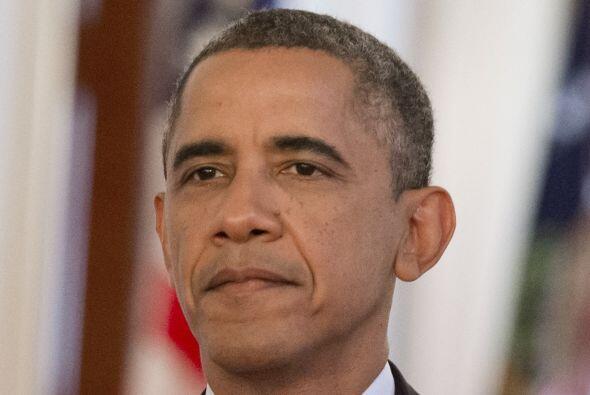 Barack Obama, felicitó a los dirigentes del Senado por haber alca...