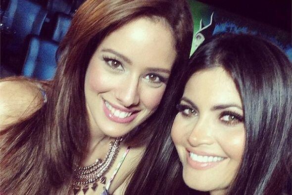 Aleyda admira mucho a su amiga Chiquinquirá delgado con quien ha compart...