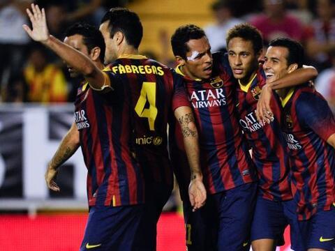 Barcelona se impuso al Rayo Vallecano en un partido que fue más p...