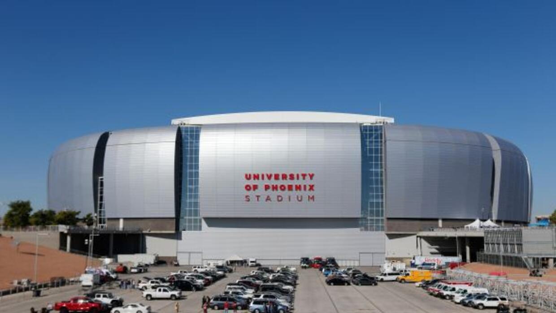 Un vistazo del University of Phoenix Stadium (AP-NFL).