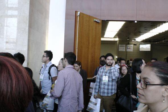 Los pasillos y salas del evento dieron la oportunidad a los asistentes d...