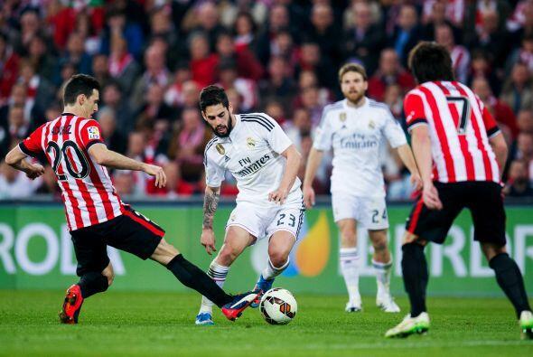 En el cierre de partido el Madrid se nubló por completo y, salvo el leja...