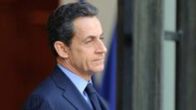 El presidente de Francia, Nicolas Sarkozy.