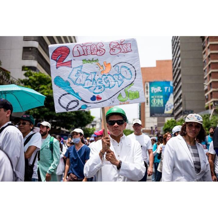 salud venezuela manifestacion