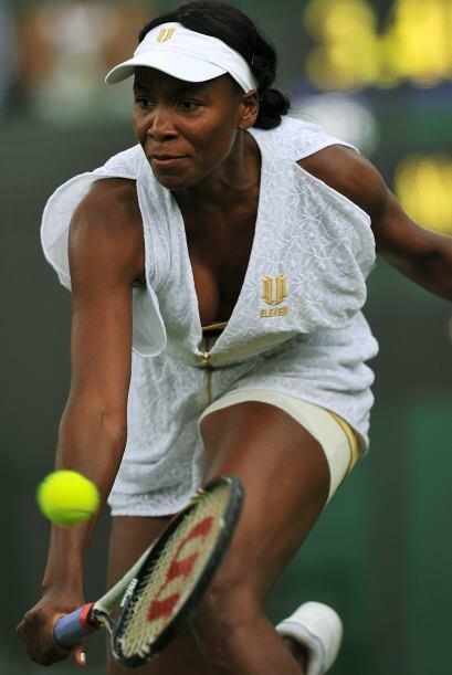 Venus Williams tuvo una buena jornada y se medirá en octavos de final a...