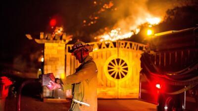 El gobernador de California, Jerry Brown, declaró el estado de emergenci...
