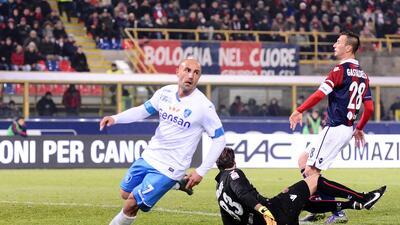 El Empoli gana 3-2 en Bolonia y sella su cuarto triunfo seguido en la Serie A