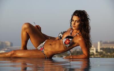 La bellísima Natalia Vélez (@nataliavelez) es una modelo y...