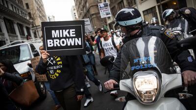 Protestas en Washington y otras ciudades rechazan la decisión del gran j...