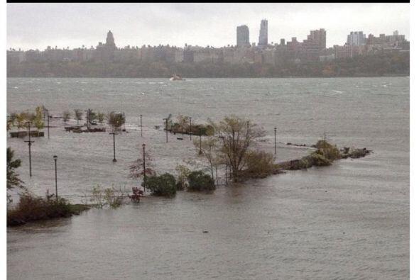 'Tu Cámara' desde el Centro Médico Palisades  Las aguas del Río Hudson h...