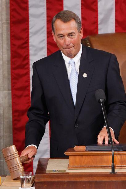 El republicano John Boehner asumió como nuevo presidente de la Cámara de...