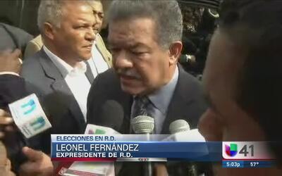 Leonel Fernández no vio problemas en las elecciones en República Dominicana