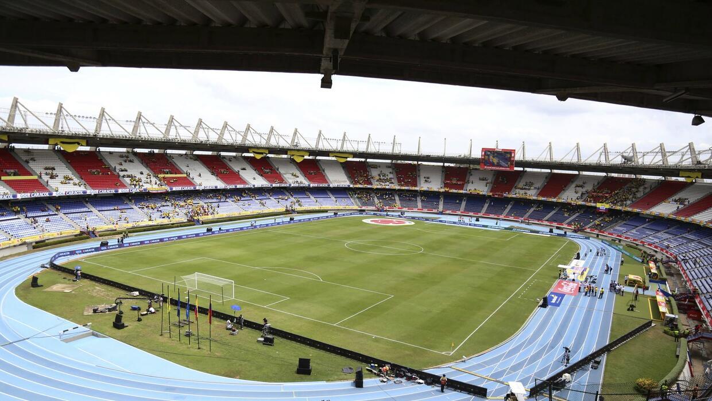 El Estadio Metropolitano de Barranquilla.