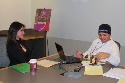 El primer paso fue una entrevista con el equipo de producción del programa.