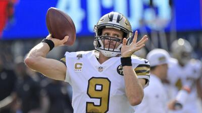 Brees busca convertirse en el tercer quarterback en vencer a todos los equipos de la NFL
