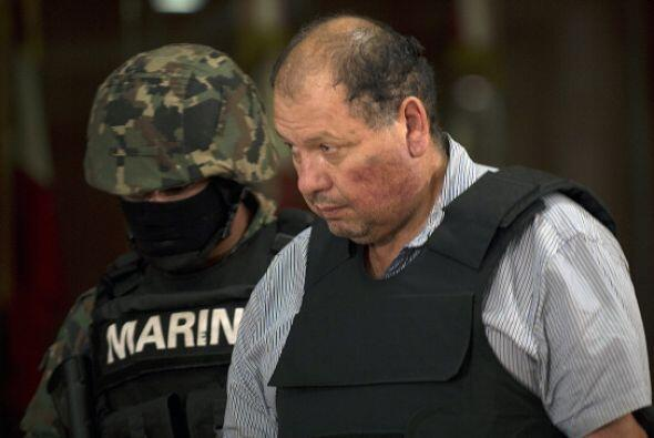 4 de septiembre. Autoridades mexicanas presentaron a Mario Cárdenas Guil...