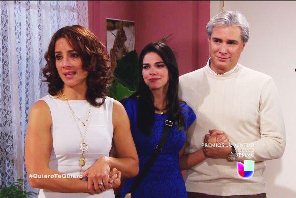 """""""Irene"""" y """"Tadeo"""" era los verdaderos padres de """"Natalia""""."""