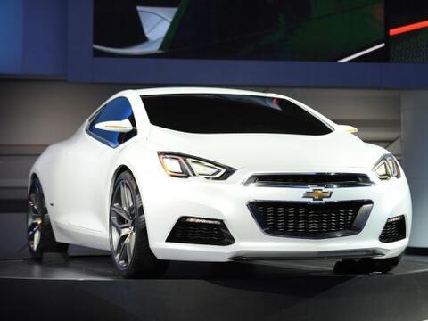Chevrolet Tru 140S Concept:Está construido con la plataforma del...