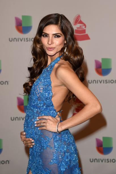 Este traje diseñado especialmente por la boliviana Rosita Hurtado...