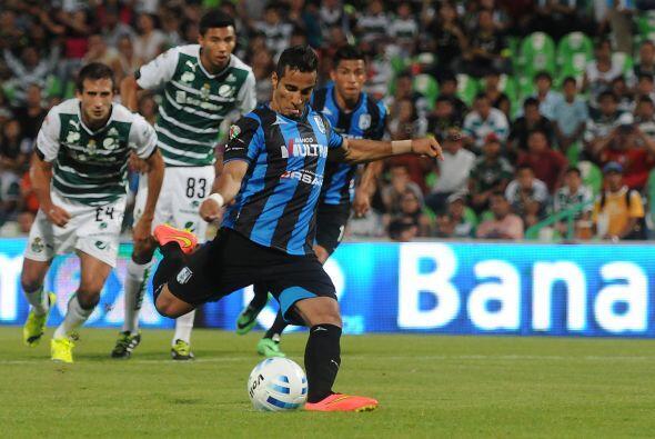 Mientras que Camilo tuvo un cobro de penal en el partido ante León que e...