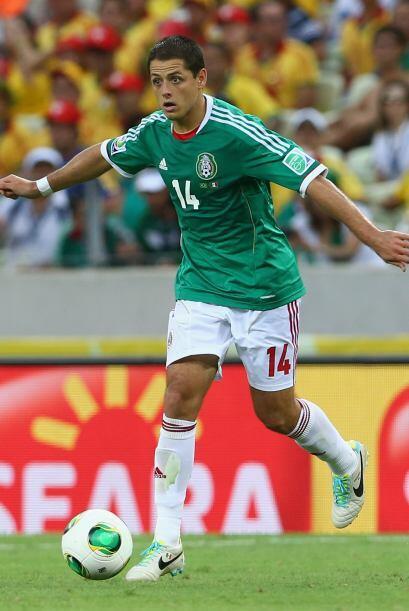 Javier Hernández.- Es casi obligación tener al 'Chicharito' Hernández en...