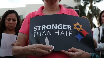 Ataque a la sinagoga en Pittsburgh no es un hecho aislado: crímenes de odio contra judíos aumentaron 37%