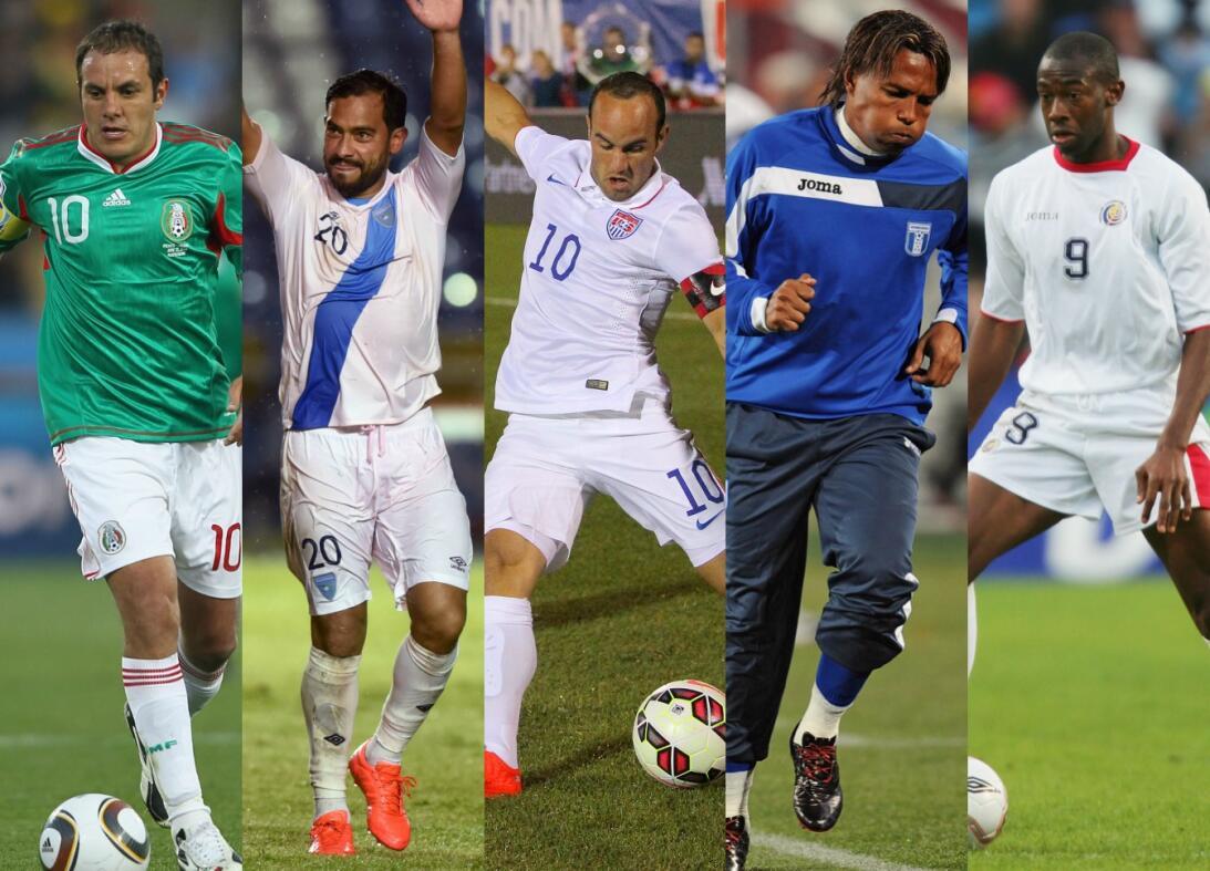 Estos son los goleadores históricos de las eliminatorias de la Concacaf...