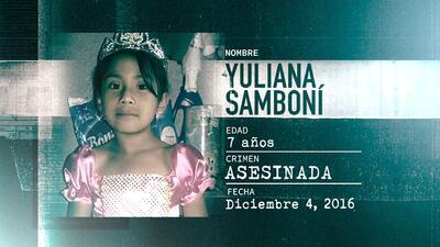 La Huella de un Crimen: Yuliana Samboní, la niña que fue raptada, violad...