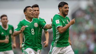 México y sus presentaciones en la Copa Confederaciones
