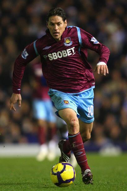 Guillermo Franco participa en el West Ham de Inglaterra, pero sus consta...