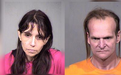 Melessa Ann Martínez, de 44 años y su esposo, Roy Lee John...