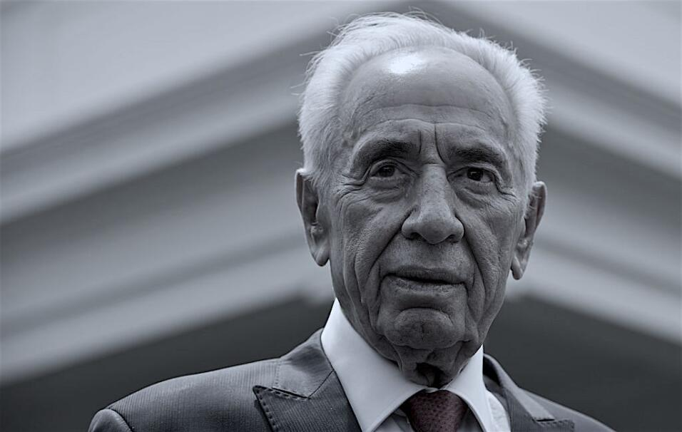Shimon Peres, ex primer ministro y expresidente de Israel