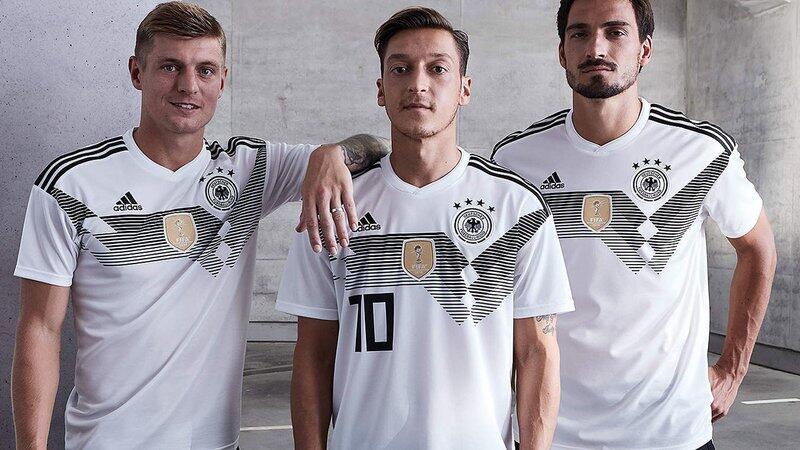 Adidas presentó los nuevos uniformes para el Mundial de Rusia 2018 image...