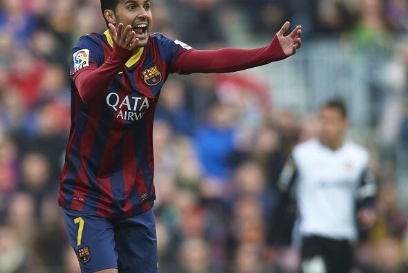 El Barcelona comenzó a ser un manojo de nervios.