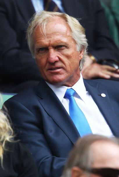 """Otros famosos estuvieron presentes en Wimbledon, como el """"gran tiburón b..."""