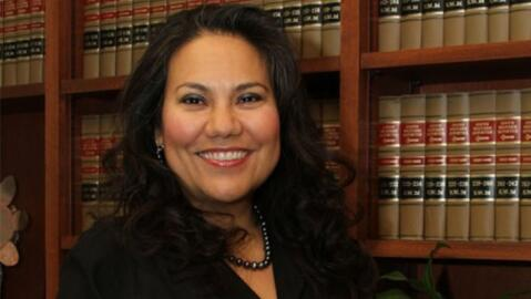 Vrerónica Escobar, juez del condado de El Paso, en Texas.