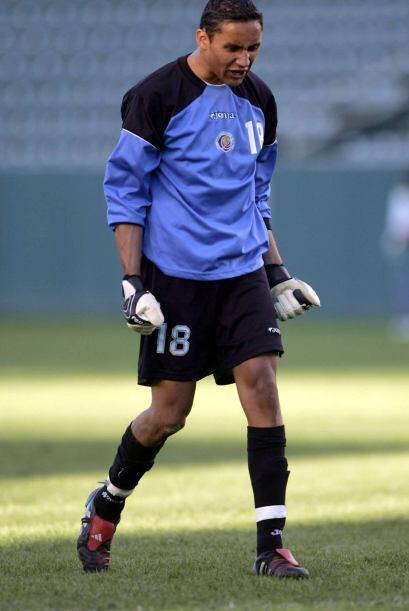 Keylor Navas, nacido en Pérez Zeledón el 15 de diciembre de 1986, cuyo f...