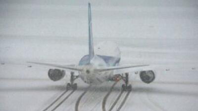 Las pérdidas registradas por culpa de las tormentas invernales en EEUU s...