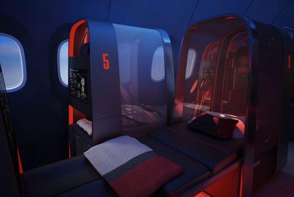 La aeronave, que aún no se construye,  tendría zonas amplias de rehabili...