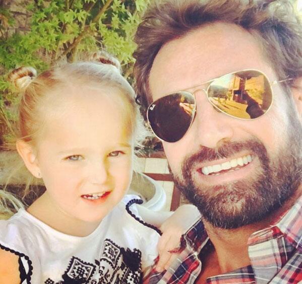 Gabriel Soto y su hija Miranda
