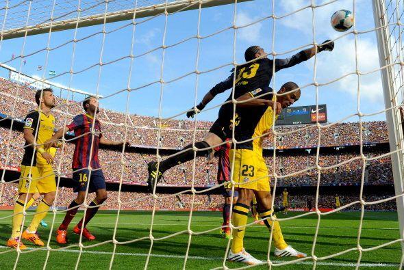 El Atlético tampoco se lo jugó todo a la defensa y tuvo sus oportunidade...