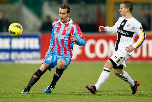 Catania y Parma disputaron un entretenido partido en el 'Calcio'.