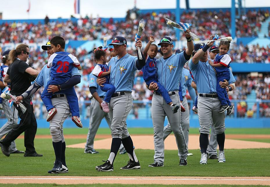 Las grandes ligas en La Habana