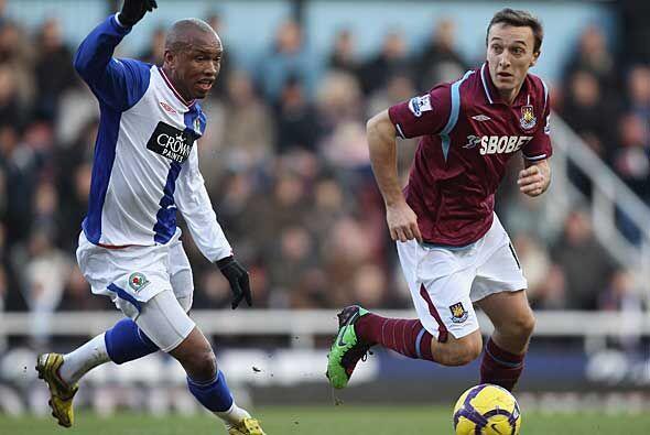 West Ham y Blackburn terminaron sin goles y quedé estéril la posibilidad...