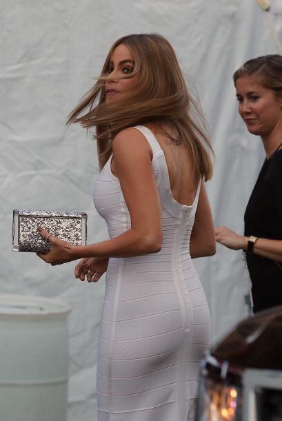 ¡Fiuuuuu, fiuuuu!, Sofía Vergara llegó despampanante a un evento de la f...