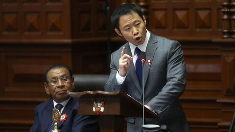 Kenji Fujimori fue el legislador que obtuvo más votos en las elec...