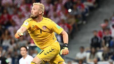 Kasper Schmeichel arañó una actuación heroica y memorable para Dinamarca